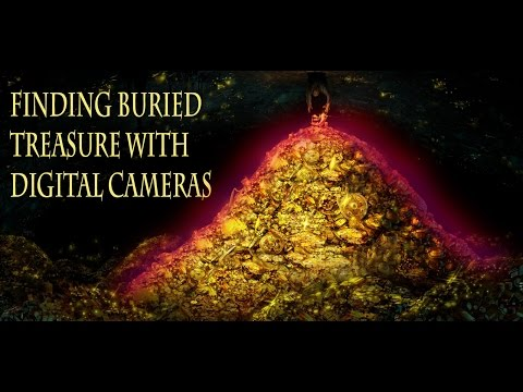 treasure hunt with infrared photography