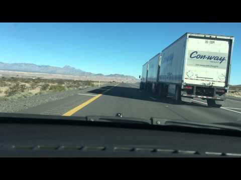 Driving from Las Vegas to Salt Lake City on I-15 Dash Cam December 2015