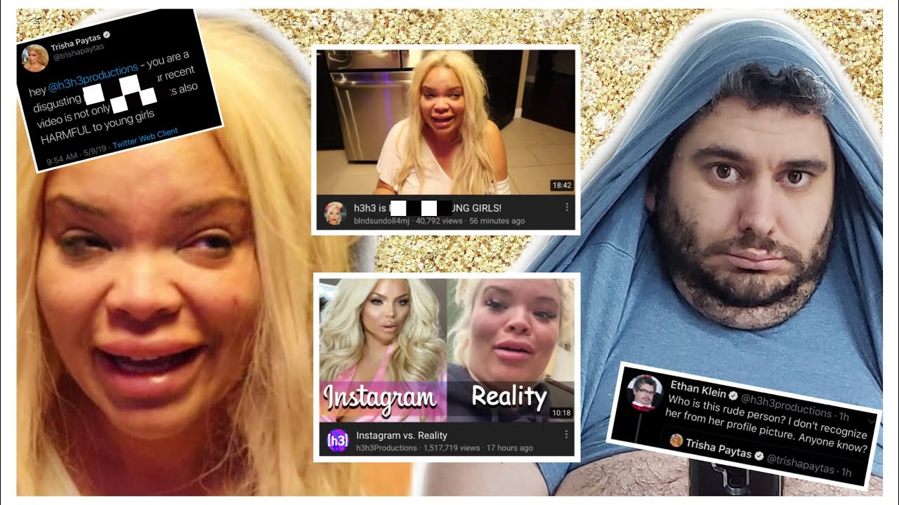 b1e64781e7b8c Trisha Paytas VS H3H3 Productions (Ethan) - YouTube