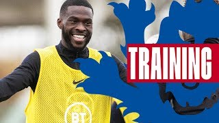 Tomori Hat-Trick & Excellent Gomez Volley! 🦁 | Inside Training | England