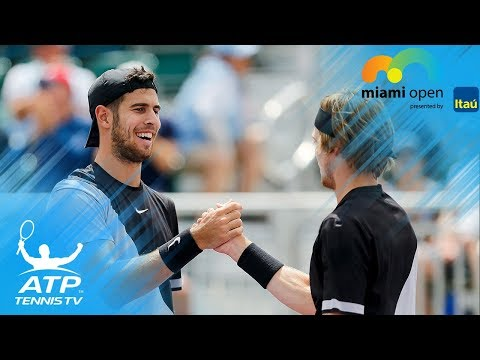 Remarkable doubles rally between Bryans & Khachanov/Rublev! | Miami Open 2018 Doubles Final