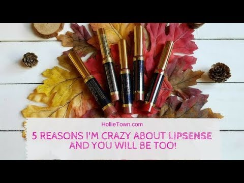 5 Reasons I'm crazy about LipSense and you will be too!!