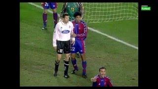 Remontada épica. FC Barcelona 3 - Valencia CF 4. Primera división 97/98