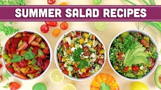 Summer Salad Recipes - Mind Over Munch collaboration with Dani Spies!