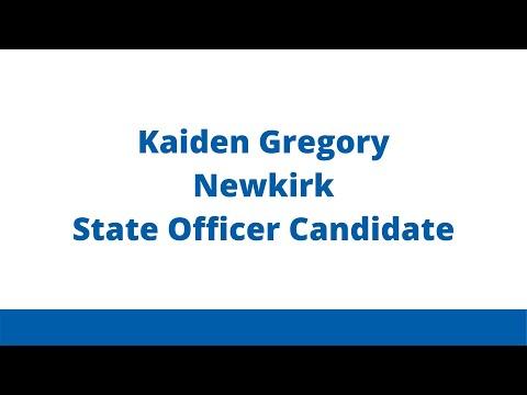 Kaiden Gregory- Newkirk