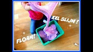 XXL FLOAM: SLIJM met foam van 5 liter lijm!
