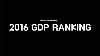 2016 World GDP Ranking TOP11