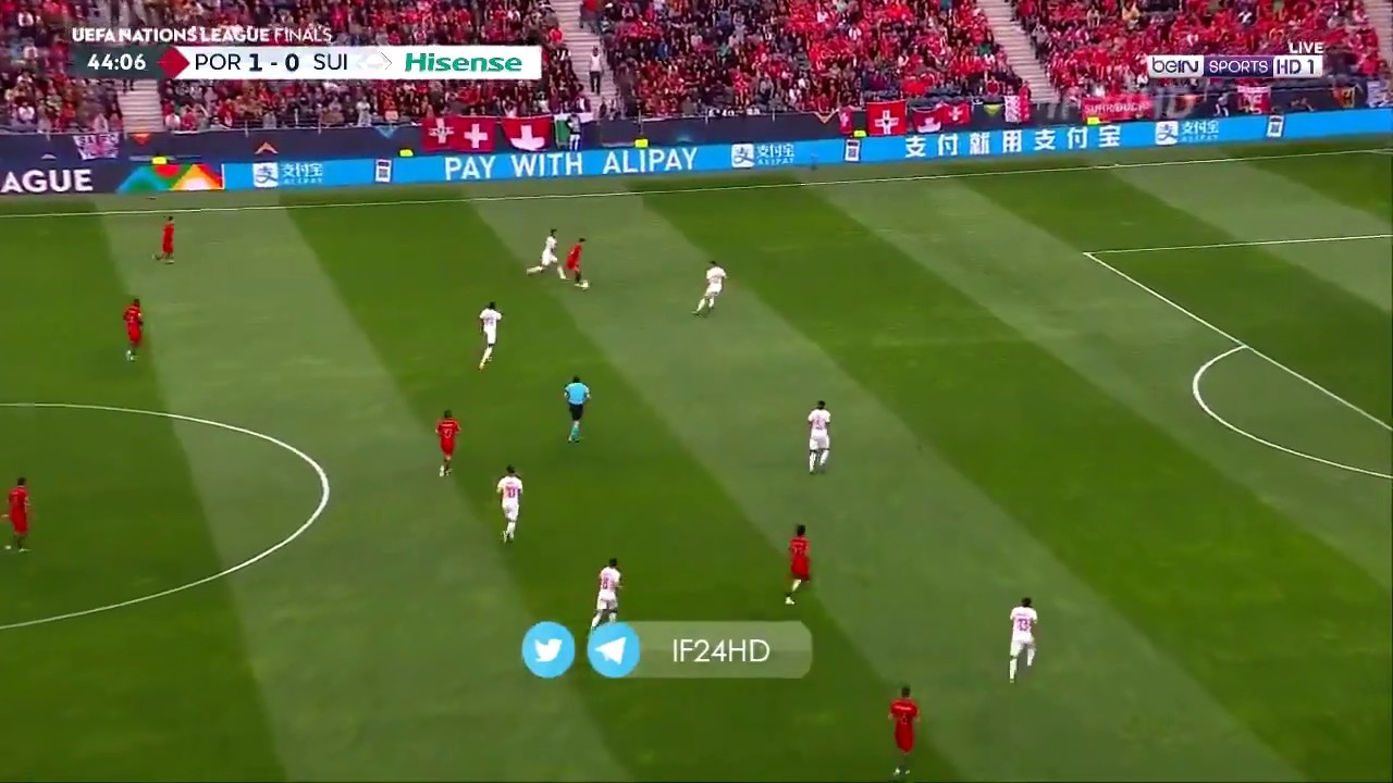 portugal vs switzerland 3-1 - cristiano ronaldo sending defenders to moon 2019 hd