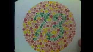 Color vision test  ,Color blind