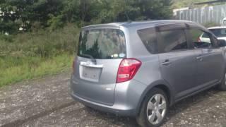 Видео-тест автомобиля Toyota Ractis (Scp100-0041225 2007г)