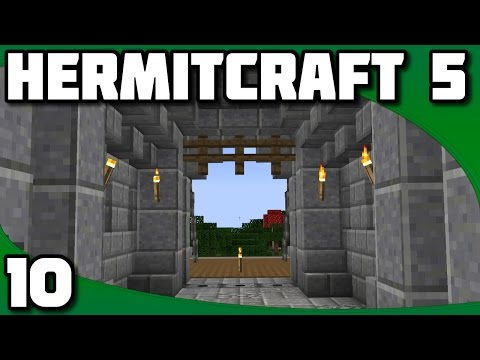 Hermitcraft 5 - Ep. 10: The Gatehouse
