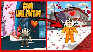 NEW SAN VALENTIN EVENT in JAILBREAK AND MAD CITY - Roblox
