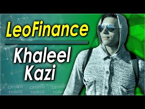 ▶️ Discussing LeoFinance With Khaleel Kazi | EP#386