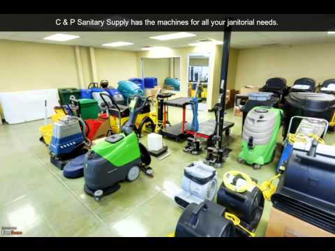 C & P Sanitary Supply | Bakersfield, CA | Janitor Supplies