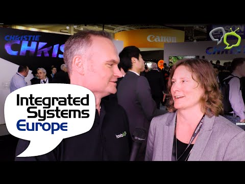 HowToAV Interview with Jennifer Smith of Christie at ISE 2016
