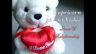 CAPRICORN LOVE & RELATIONSHIP 16-31 October 2017 In-Depth Tarot 💕