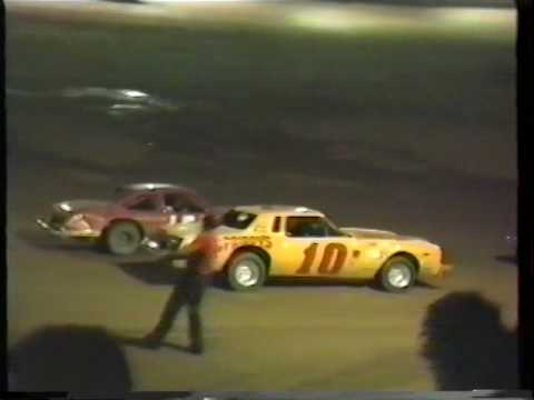 July 1987 Beckley Motor Speedway Street Stocks CrashFest Barley, Prince, Vernetter Motorsports Park