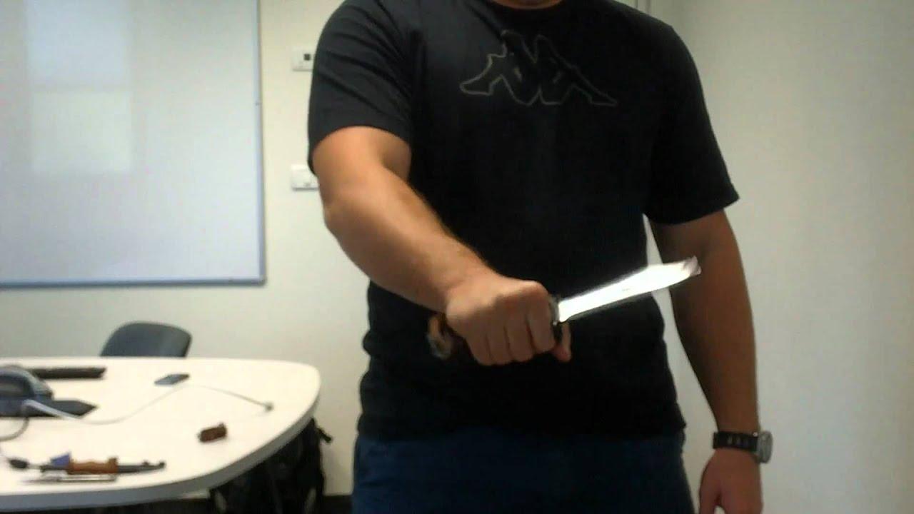 Советская ножевая классика: штык-нож АКМ/АК74 тип 2 (6х4