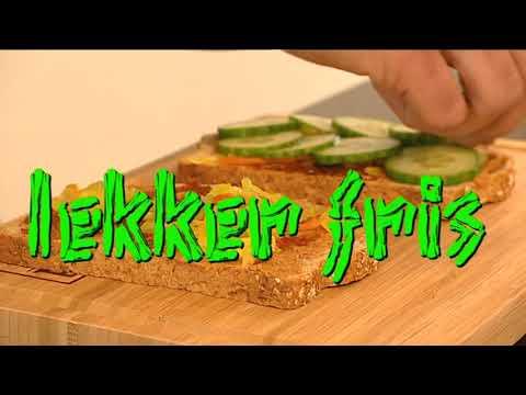 Receptvideo Indische sandwich