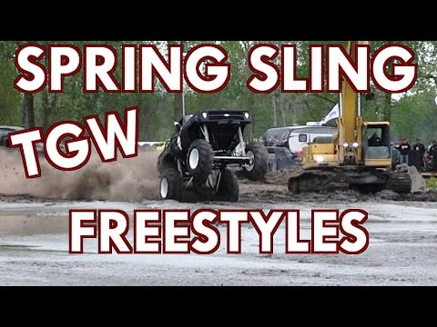 FULL FREESTYLE EVENT AT SPRING SLING TGW AT COUNTRY COMPOUND 2017