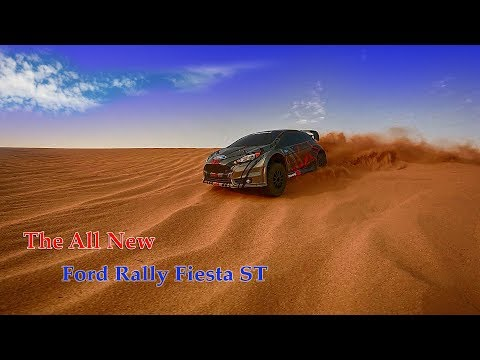 Traxxas Rally Ford Fiesta ST 1/10 Scale
