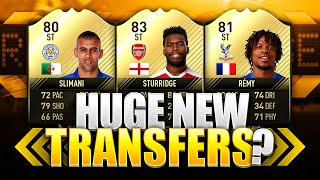 HUGE FIFA 17 TRANSFERS?