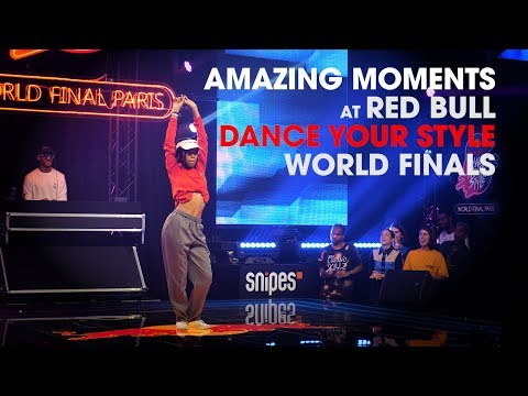 Amazing Moments At Red Bull DANCE YOUR STYLE WORLD FINALS 2019 // .stance