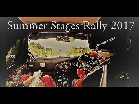Summer Stages Rally 2017