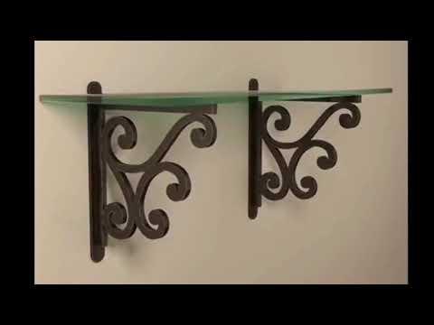 Decorative Shelf Brackets-Extra Large Decorative Shelf Brackets|Modern Wooden & Metal Best Pic