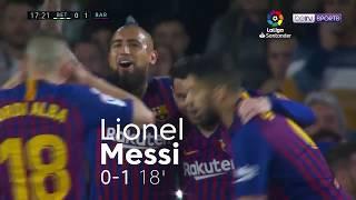 Real Betis 1-4 Barcelona Match Highlights