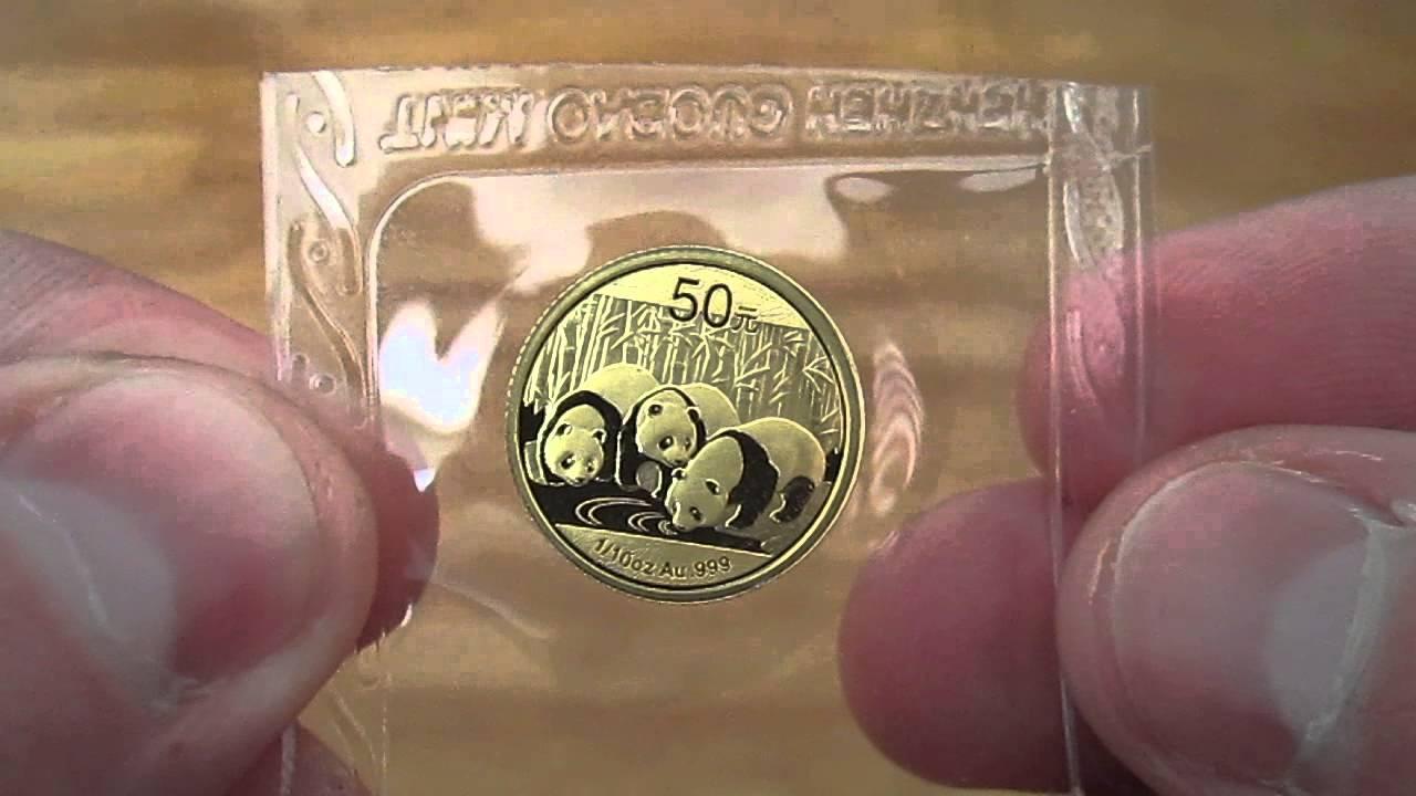 2013 1 10 Oz Gold Chinese Panda Youtube