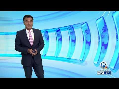Latest Weather Forecast 11 p.m. Friday