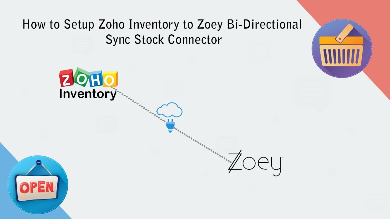 How to Setup and Sync Products Between Zoho Inventory to Zoey  Bi-Directional Stock Sync