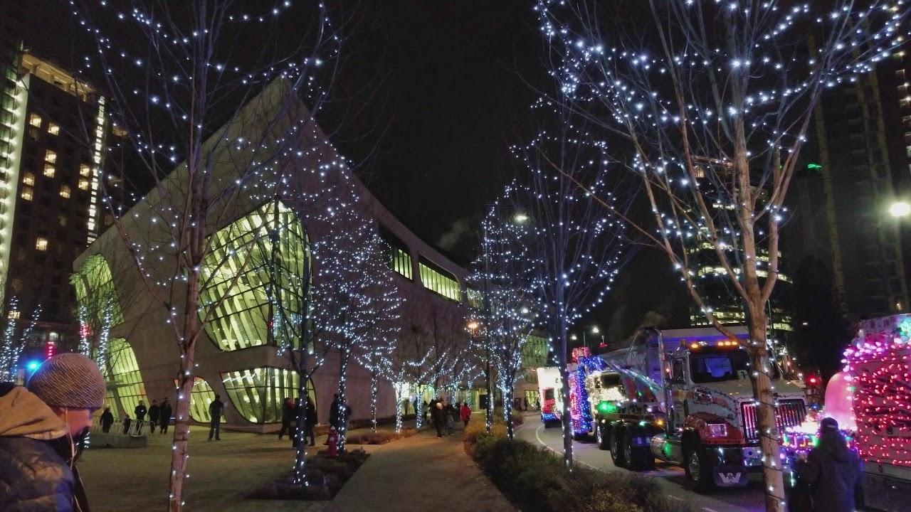 Delightful Vancouver CHRISTMAS 2017: SURREYu0027S OFFICIAL CHRISTMAS TREE U0026 Vehicles Of  The Santa Parade Of Lights