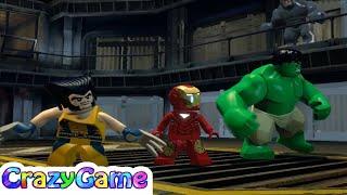 Baixar Lego Marvel Super Heroes 4 - Hulk, Ironman, Wolverine vs Sabertooth & Abomination