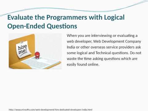 Fundamental Tips to Hire an Expert Web Developer