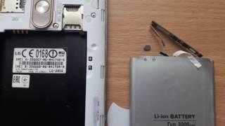 LG G 3 D 856 Решение проблемы с перезагрузкой телефона