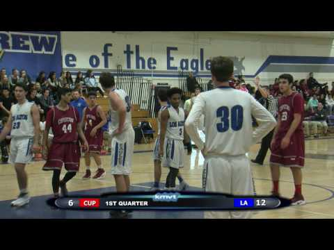 Cupertino Pioneers vs Los Altos Eagles - Boys Basketball January 13, 2017