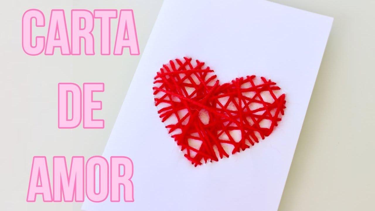 Como Hacer Una Hermosa Carta De Amor Para Regalar Fácil