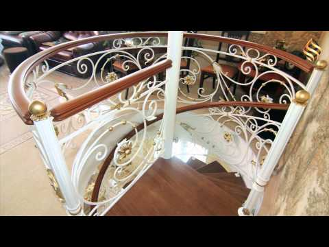 Лестница винтовая и прямая Жуково