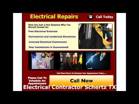 Electrical Contractor Schertz TX - Get us at (210) 757-4378