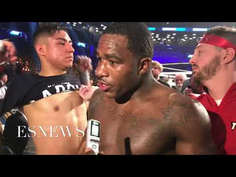(MUST WATCH) BRONER AND VARGAS SECONDS AFTER THE DRAW