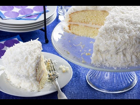 Elvis' Coconut Cake