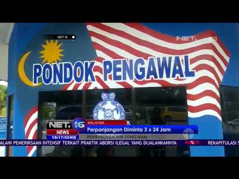 Polisi Malaysia Perpanjang Penahanan Siti Aisyah - NET16