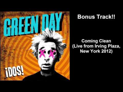 green day coming clean live bonus
