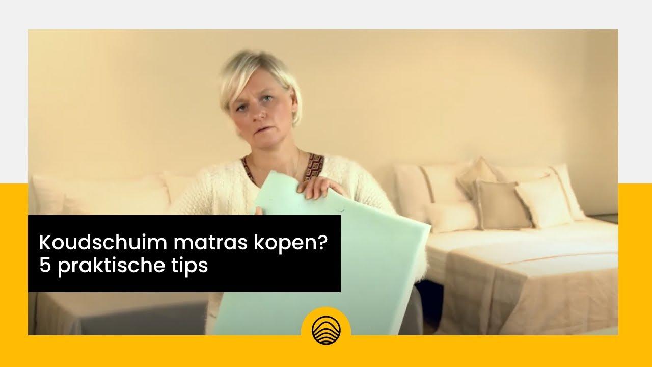 Matras Kopen Tips : Koudschuim matras kopen praktische tips youtube