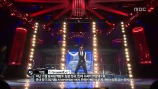 Bigbang - Intro + Remember, 빅뱅 - 인트로 + 리멤버, Music Core 20081108