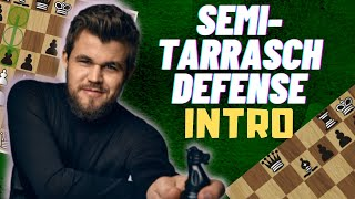 The EASIEST WAY t๐ play AGAINST d4! - Master the SEMI-TARRASCH Defense - Strategical Ideas and Plans
