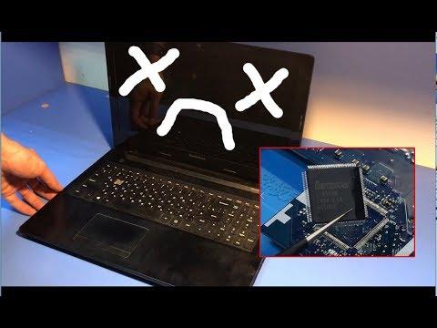 Оживление мертвеца. Ноутбук Lenovo G50-70.