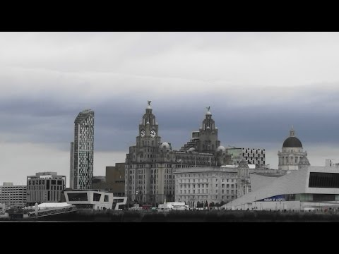 The UK Today - A Ferry Across The Mersey To Liverpool City Centre..September 2016